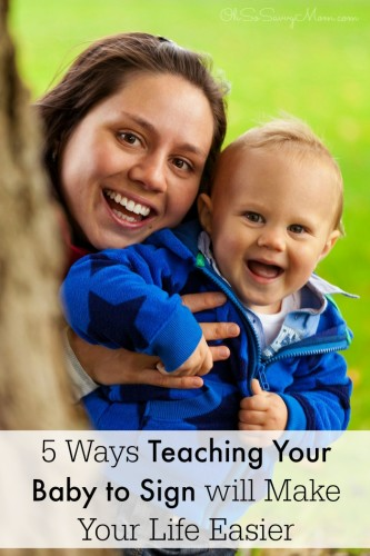 5 Ways Teaching Your Baby Sign Language will Make Your Life Easier
