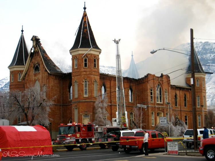 Provo Tabernacle fire 2 a