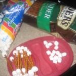 "Yummy Halloween Recipe: White Chocolate Covered ""Funny Bones"""