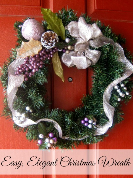 easy elegant christmas wreath - Elegant Christmas Wreaths