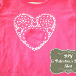 """""""Adoily-able"""" Valentine's Day Shirt DIY!"""