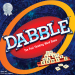 If you love word games, this is a game for you! Dabble-The Fast Thinking Word Game – Review