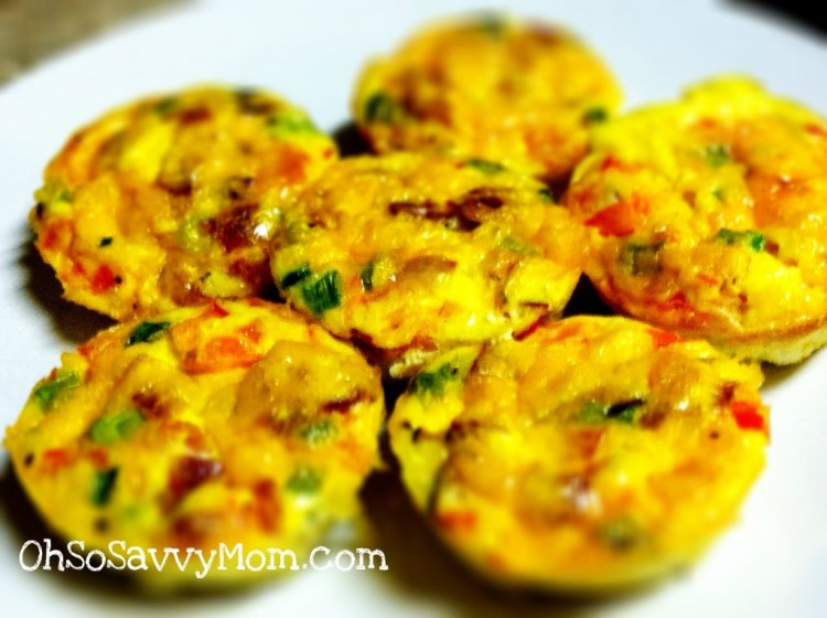 muffin tin omelette