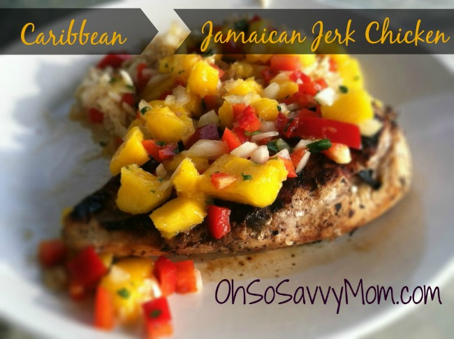 Caribbean Jamaican Jerk Chicken Recipe