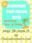 Summer fun guide button