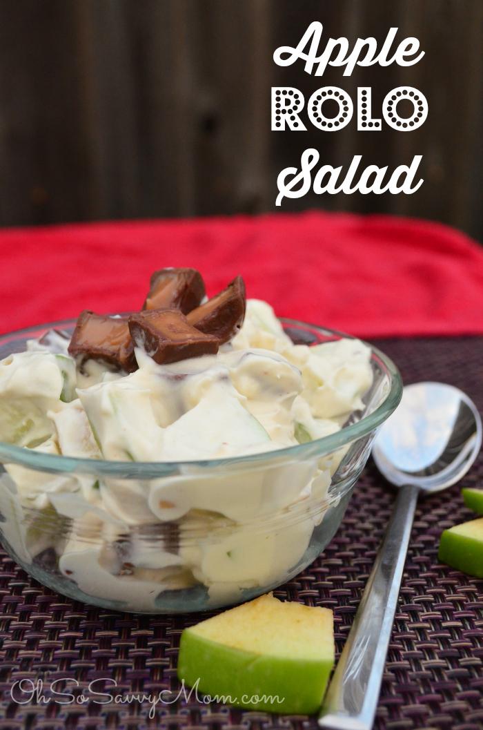 Apple Rolo Salad