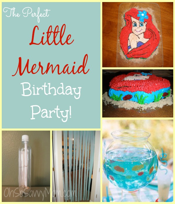 your little princess will love these little mermaid
