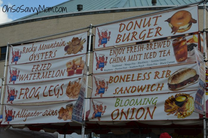 Louisiana State Fair Menu