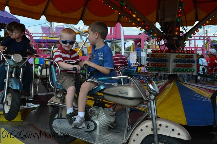 Louisiana State Fair kids rides