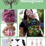Happily Homegrown #ClothDiapers shop + Peachy Green AI2 – Review #FluffyXmas