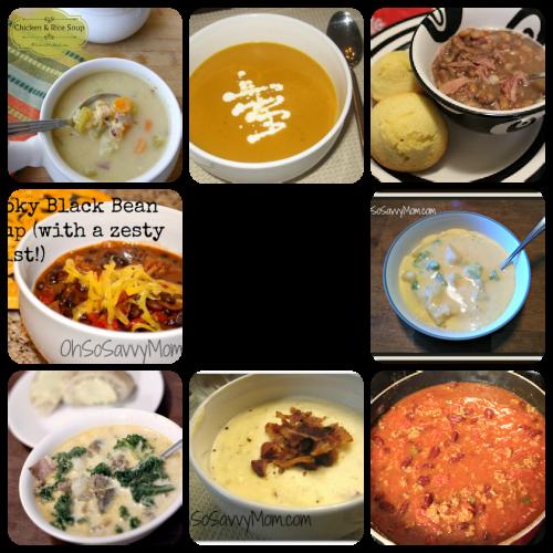 10 Favorite Soup Recipes!