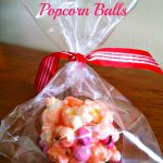 Valentines Day Popcorn Balls #Recipe