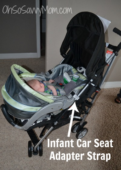 Britax B-Nimble Infant Car Seat Option