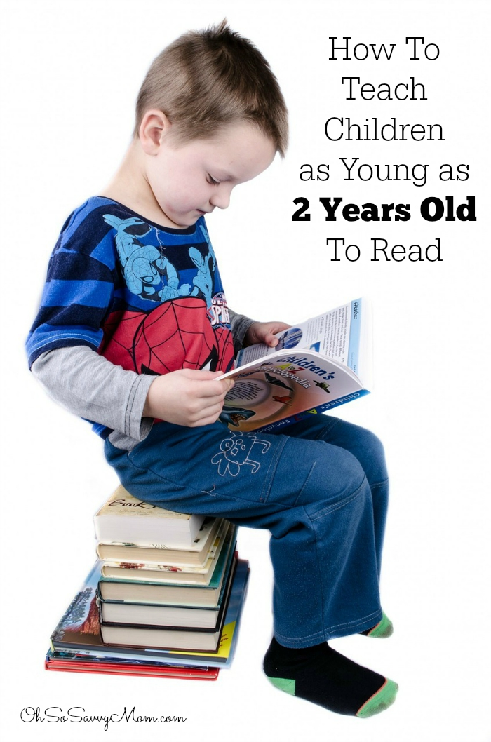 My three year old can read! How to teach children as young ...