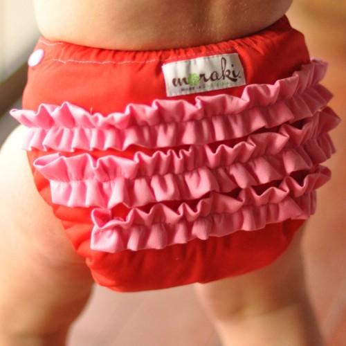 moraki ruffle diaper