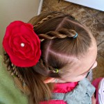 Girly Hairdo Tutorial – 3 Rope Braids Tutorial