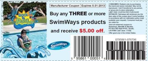 Swimways coupon