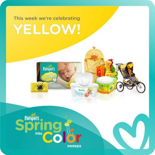 Pampers Spring Into Color Week One