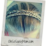 Both you and your daughter will look beautiful in this Double Braid Headband! – Hair Tutorial