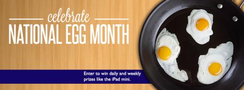 national egg month