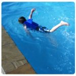 Our Swimming Progress and What to do when your little one has a fear of the water #SwimSteps