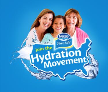 Nestle hydration movement