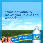 She taught me compassion, empathy, kindness. Thanks Mom. #MomWisdom #HydrationMovement