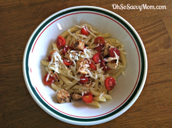 Chicken Margherita Pasta