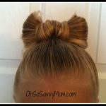 Bow Bun – Girly Hairdo Tutorial