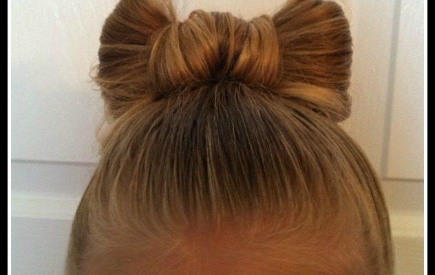 Bow Bun – Girly Hairdo Tutorial