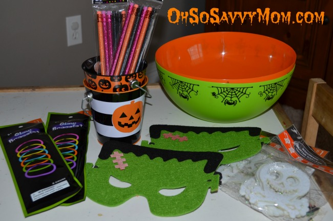 Boo Basket treats