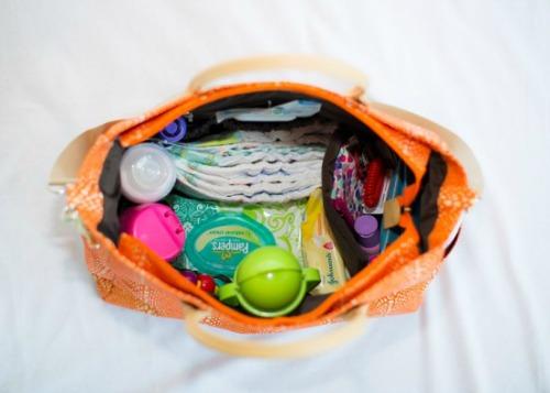 Lina bag inside