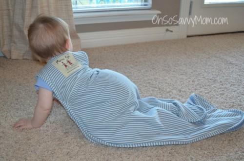 Merino Kids Wool and Organic Cotton sleep sack