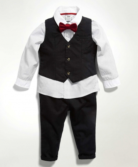 Mamas and Papas baby Vest outfit