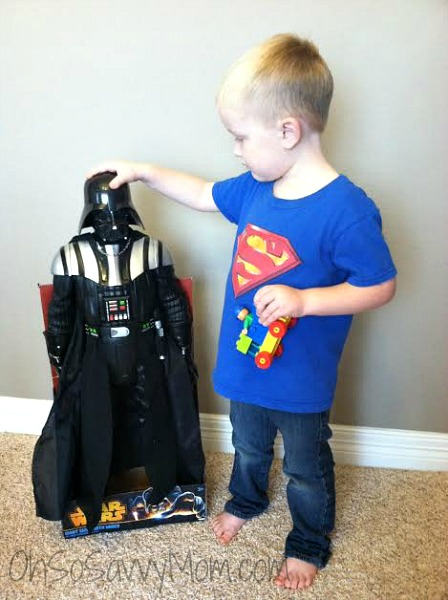 giant darth vader action figure