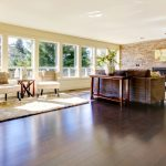 integrating dark wood floors