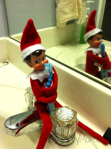 Elf on the shelf good hygiene