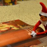 Elf on the shelf reading