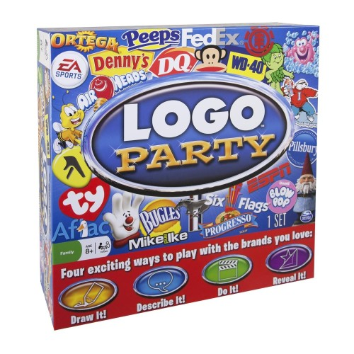 Logo party, party game by Spin Master games
