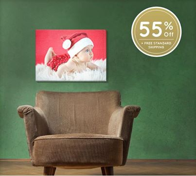 easy canvas prints holiday sale