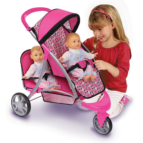 graco duo jogger toy stroller, toy double stroller
