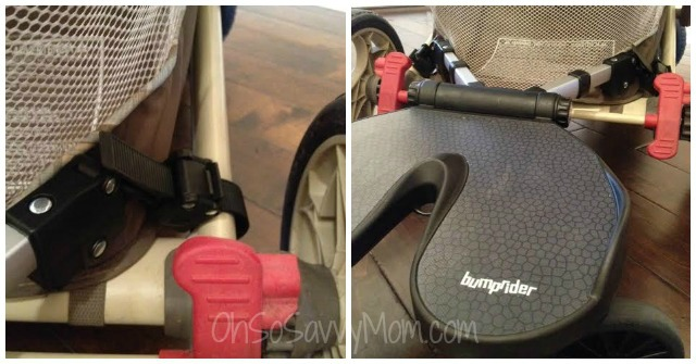 joovy bumprider on graco stroller