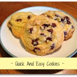 Quick and Easy 3 Ingredient Cookies