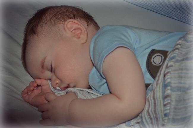 Baby Z sleeping