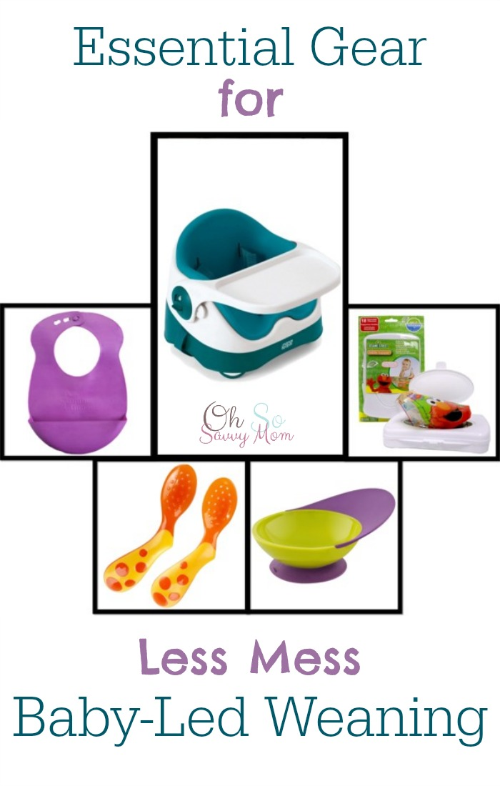 Essential Gear for Less Mess Baby Led Weaning