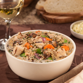 Grilled Chicken and Wild Rice Soup - Healthy Eating Options