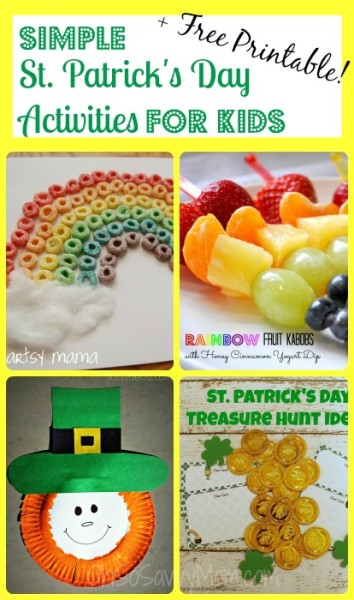 Easy St Patricks Day Activities for Kids