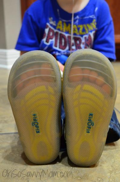 KidoFit minimalist shoes transparent soles
