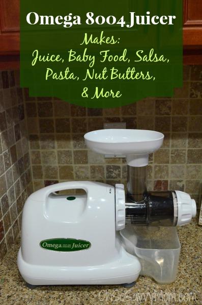 Omega 8004 Juicer, Masticating Juicer
