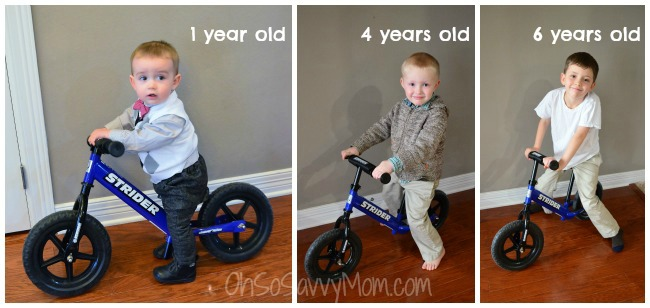 Strider Balance bike for ages 1-7